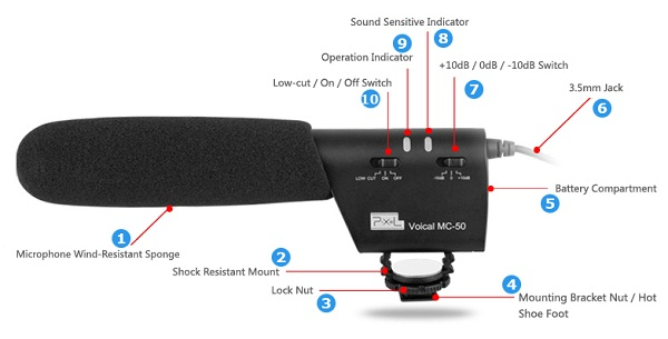 Microphone Voical MC-50