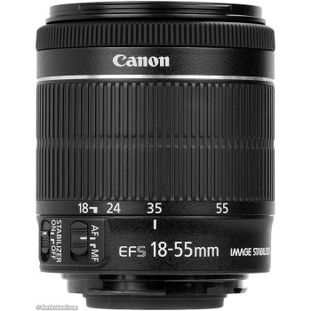 Canon EF-S 18-55mm f/3.5-5.6 IS STM, Mới 98%