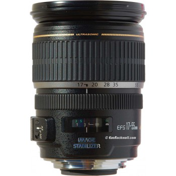 Canon EF-S 17-55mm f/2.8 IS USM, Mới 95%