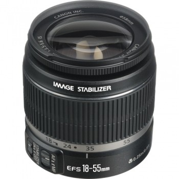 Canon EF-S 18-55mm f/3.5-5.6 IS, Mới 95%