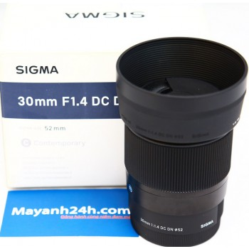 Sigma 30mm F1.4 DC DN For Sony E-Mount, Mới 95%