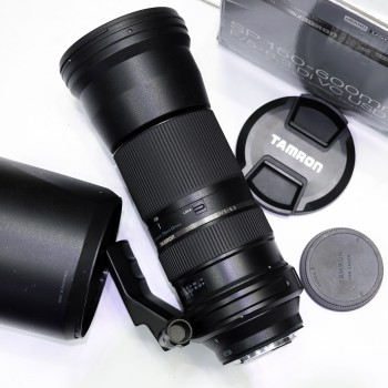 Tamron SP 150-600mm f/5-6.3 Di VC USD For Canon, Mới 90% / Fullbox