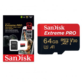 Micro SD SanDisk Extreme Pro 64gb / 667x / 100Mb/s