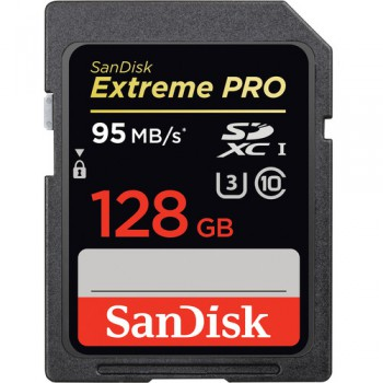 Thẻ nhớ SD SanDisk Extreme Pro 128GB / 633x / 95Mb/s